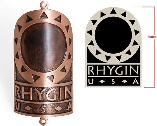 Copper head badge