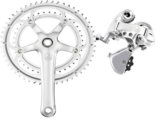 Crankset and Derailleur