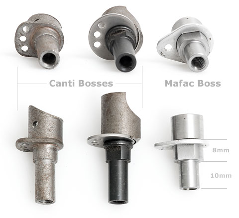 Mafac and cantilever brake bosses