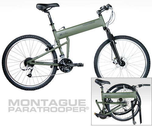 Montague Paratrooper tactical folding bicycle