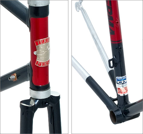 Terraferma Cycles fork and bottom bracket