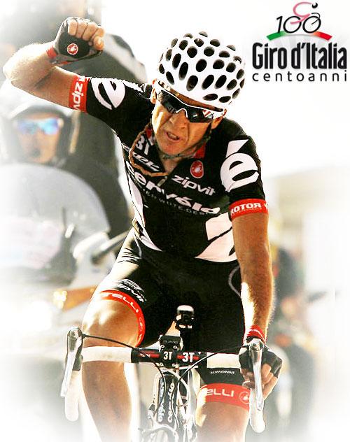 Carlos Sastre wins stage 16 of the Giro