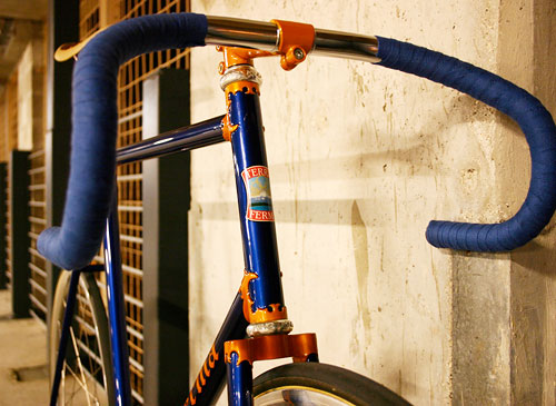 Nitto Ultimate Ideal stem, Nitto drop bars