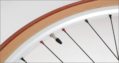 Velocity Synergy rim with Grand Bois Hetres tire