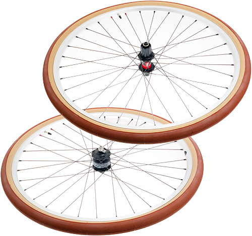 Joe Young brevet wheelset