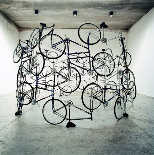 Ai Weiwei, Forever Bicycles, 2003