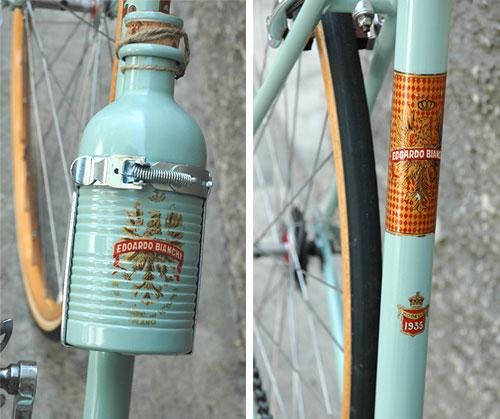 1935 Bianchi water bottle